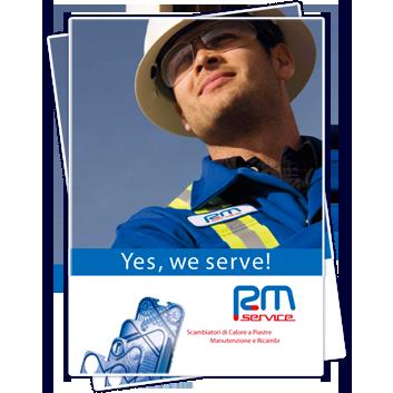 Scarica la brochure di RM Service